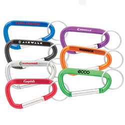 Personalized - 8cm Carabiner - Revised Prices!