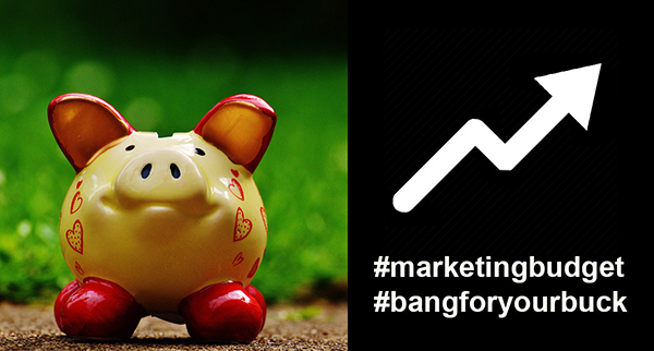 Four ways to maximise your marketing budget