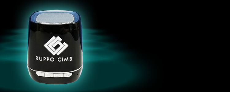 Personalized souvenir bluetooth speaker