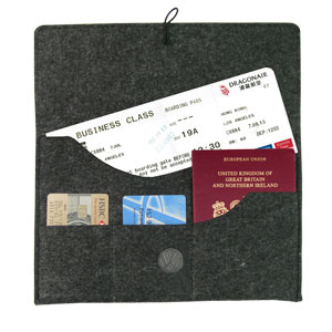 Personalized - Felt Travel Pouch