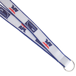 Personalized - Snowdon Dual Colour Lanyard