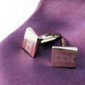 Personalized - Engraved Metal Cufflinks