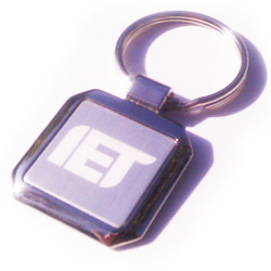 Square Metal Keyring - SPECIAL PRICES!!!