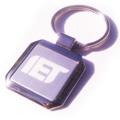 個人 - 正方形金屬匙扣