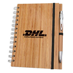 Eco Bamboo Notebook with Pen