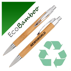 Personalized - Eco Bamboo Ball Pen