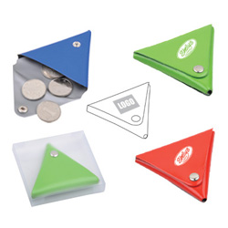 Personalized - Triangle Coin Purse
