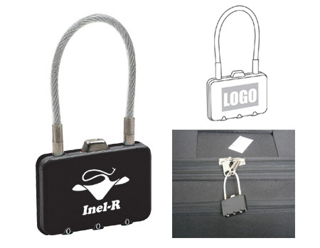 Personalized - Rectangle Metal Coded Lock