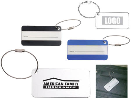 Personalized - Aluminium Luggage Tag