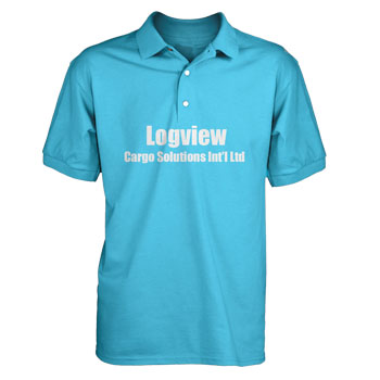 Personalized - Polo shirts w vinyl decoration