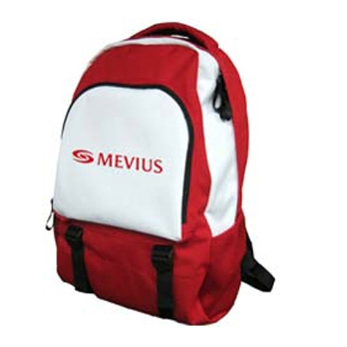 Personalized - Backpack - red and white - reduced prices!