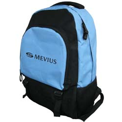 Backpack - light blue and black - reduced prices!