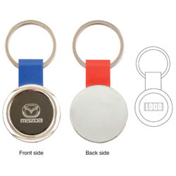 Personalized - Round Key Tag