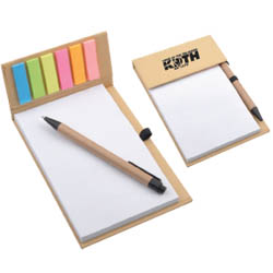 Personalized - Desk Memo Pad with Pen