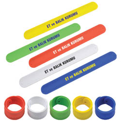 Personalized - Silicone Slap Band
