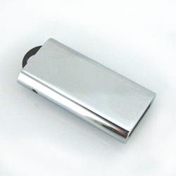 Chrome Finish Micro USB