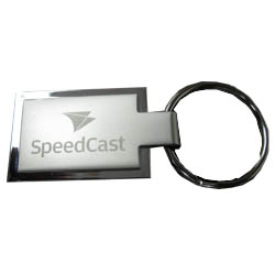 2 sided metal keyring