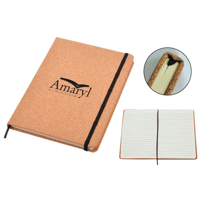 Personalized - Cork Notebook