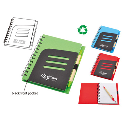 Eco Jotter with Pen