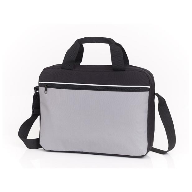 Personalized - Black/Grey Conference Bag - LAST 20 PIECES