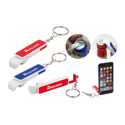 Keychain Bottle Opener Mobile Stand