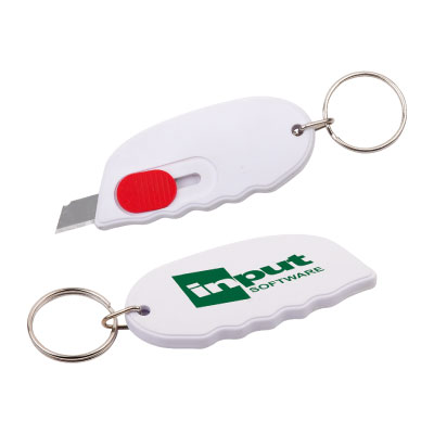Personalized - Carton Opener with Key Ring