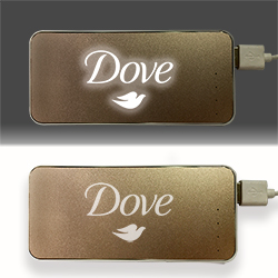 Personalized - Light up power bank