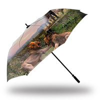 Full Color Print Golf Umbrella