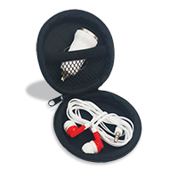 Dinger Round Travel Storage Case