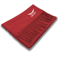Chinese Red Scarf