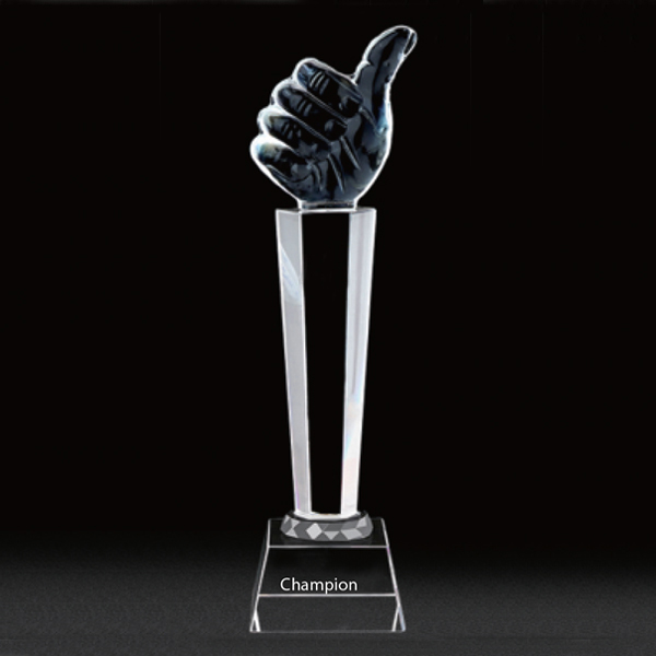 Personalized - Thumbs Up Trophy