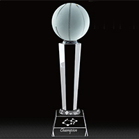 Personalized - Globe / Sports Ball Trophy