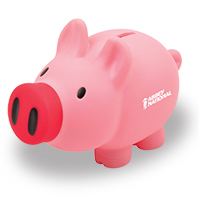 Personalized - Oinku PVC Piggy Bank