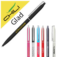 Glad Thin Twist Metal Ballpen