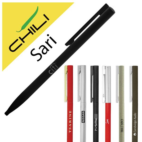 Sari Thin Twist Metal Ballpen
