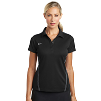 Nike Ladies Dri-FIT Sport Swoosh Pique Polo