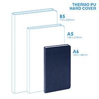 個人 - PU A6硬面筆記本