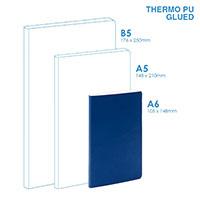 個人 - PU A6軟面(膠粘)筆記本