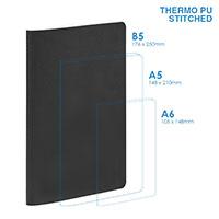 個人 - PU B5軟面(縫合)筆記本