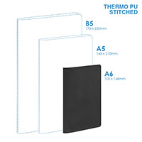 Personalized - PU A6 Soft Cover (stitched) Notebook