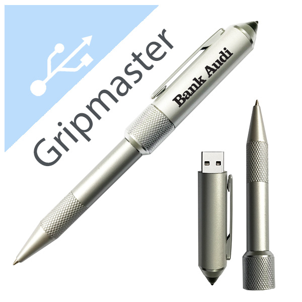 Personalized - Gripmaster usb pen