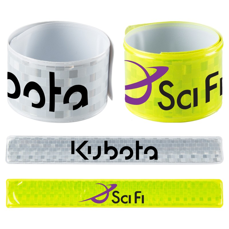Personalized - Reflective Pop Wrist Band