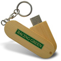 Personalized - Swing Wood USB