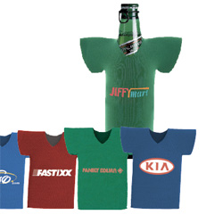 T Shirt Bottle Cooler