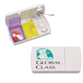 Personalized - Pill Box with Cutter