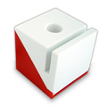 Personalized - Cube Memo & Pen Holder