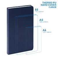 PU B5硬面筆記本