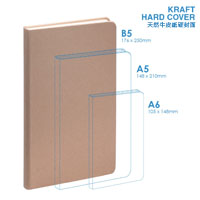 Personalized - Eco B5 Hard Cover Notebook