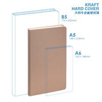 Personalized - Eco A5 Hard Cover Notebook