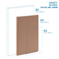 Eco A5 Soft Cover (glued) Notebook